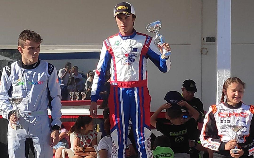 Campeonato Madrileño de karting, victorias para Oscar Cora, Alvaro Gutierrez y Hugo López